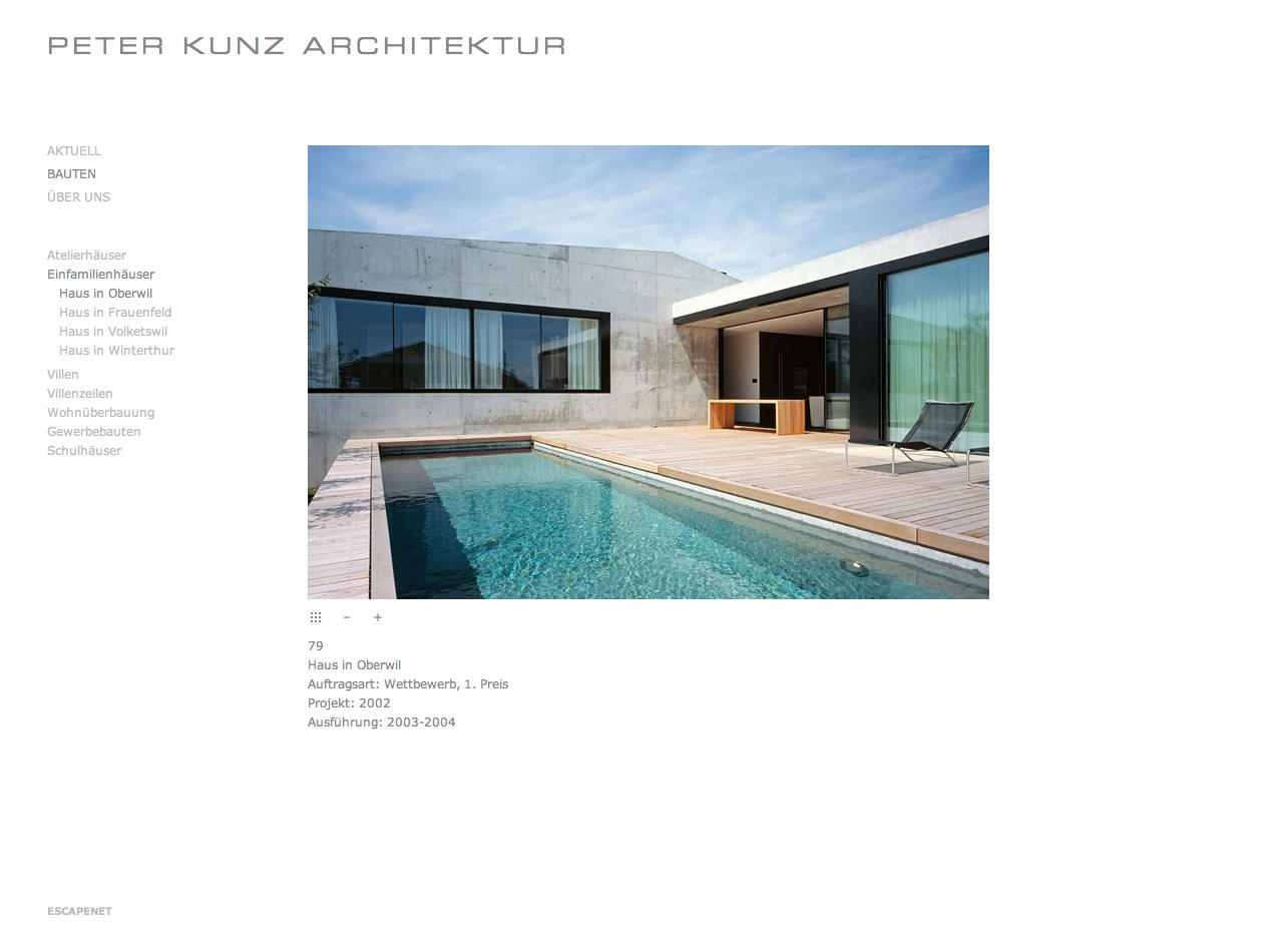 Peter kunz architektur